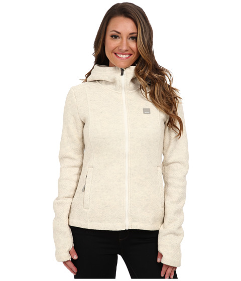 Bench - Dearby Zip Hoodie (Sleet Marl) Women's Sweatshirt