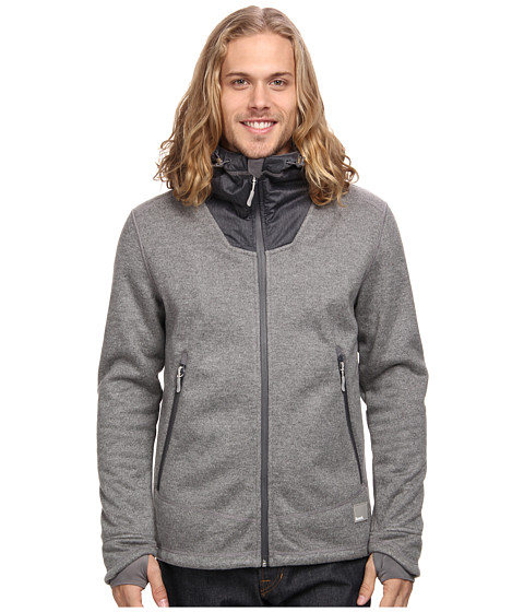 Bench - Quadruplejup Hoodie (Stormcloud Marl) Men's Sweatshirt
