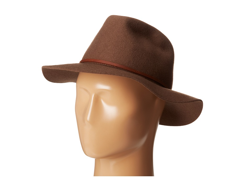 Brixton - Wesley Fedora (Camel) Traditional Hats