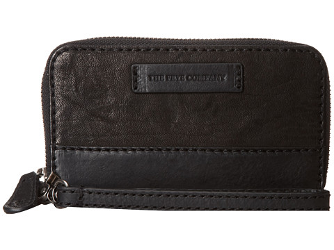 Frye - Michelle Phone Wallet (Black Antique Soft Vintage) Wallet Handbags