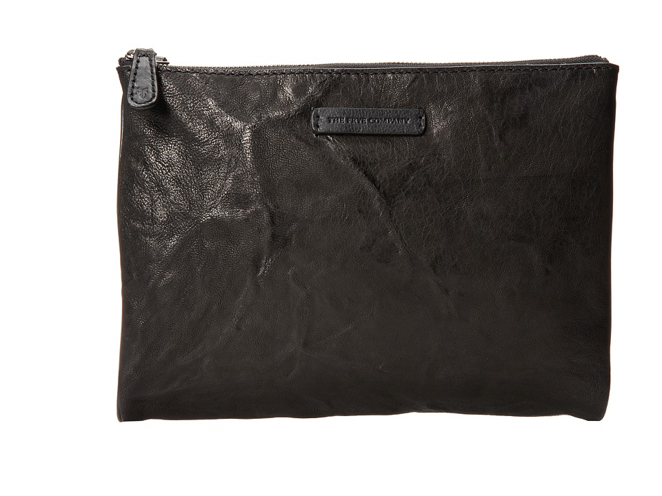 Frye - Michelle Tech Clutch (Black Antique Soft Vintage) Clutch Handbags