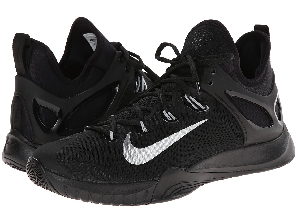 Nike - Zoom HyperRev 2015 (Black/Metallic Silver) Men