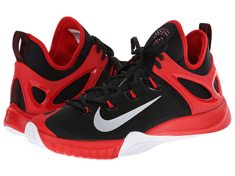Nike - Zoom HyperRev 2015 (Black/University Red/White/Pure Platinum) Men