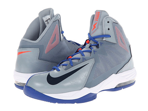 Nike - Air Max Stutter Step 2 (Dove Grey/Game Royal/Bright Crimson/Obsidan) Men's Basketball Shoes