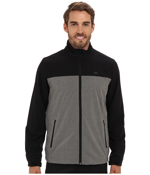 TravisMathew - Glastonbury Jacket (Black) Men's Coat