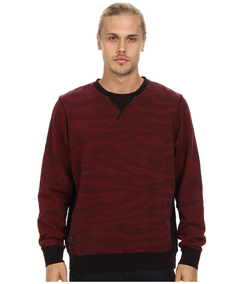 L-R-G - Body Bagger Sweatshirt (Burgundy) Men's Sweatshirt