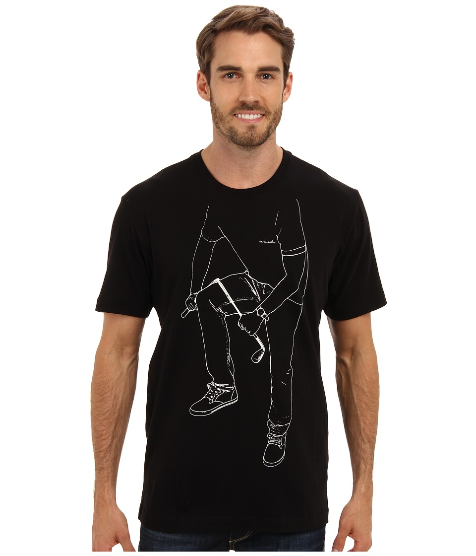 TravisMathew - Shafted Tee (Black) Men's T Shirt