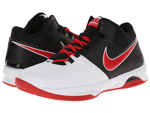 Nike - Air Visi Pro V (White/Black/University Red) Men