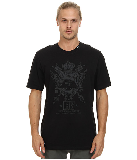 L-R-G - LRG Surplus Tee (Black) Men