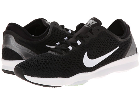 Nike - Zoom Fit (Black/Volt/White) Women's Cross Training Shoes