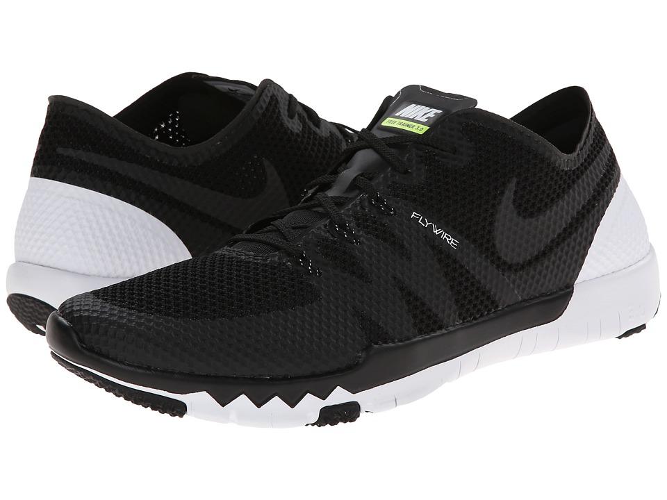 Nike - Free Trainer 3.0 V3 (Black/White/Black) Men