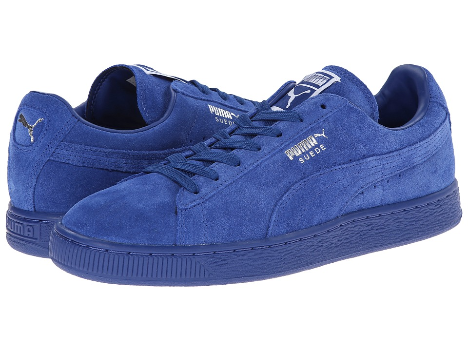 PUMA - Suede Classic (Limoges/Puma Silver) Shoes