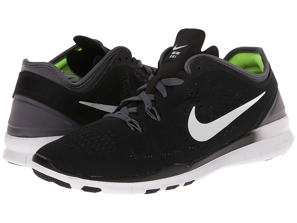 Nike - Free 5.0 TR Fit 5 (Black/Dark Grey/White/White) Women's Cross Training Shoes