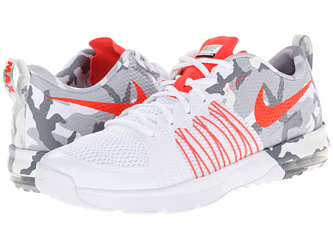 Nike - Air Max Effort TR (White/Black/Bright Crimson) Men's Cross Training Shoes