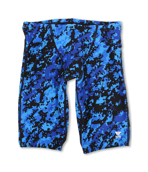 TYR - Team Digi Camo All Over Jammer (Blue) Men's Swimwear