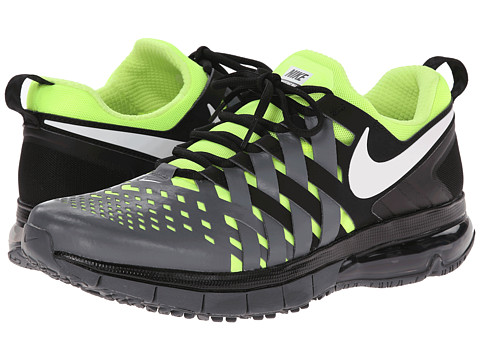 Nike - Fingertrap Max (Black/Dark Grey/Volt/White) Men's Cross Training Shoes