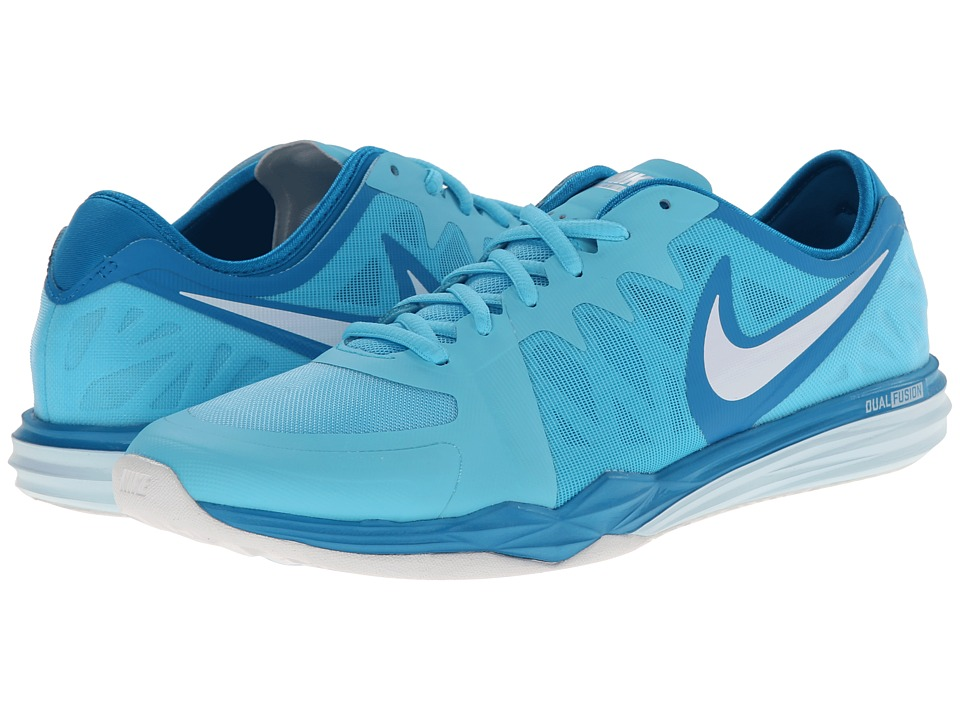 Nike - Dual Fusion TR 3 (Clearwater/Light Blue Lacquer/Ice Cube Blue/White) Women