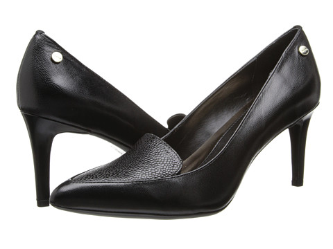 Calvin Klein - Niaya (Black Kidskin/Stringray) High Heels