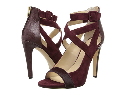 Calvin Klein - Saren (Port Hair Calf/Kid Suede) High Heels