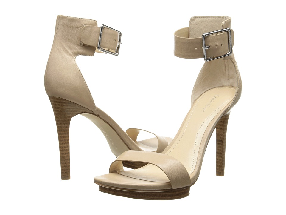 Calvin Klein - Vivian (Clay Sheep Skin Leather) High Heels