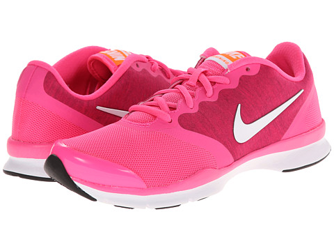 Nike - In-Season TR 4 (Pink Pow/Fireberry/Total Orange/White) Women