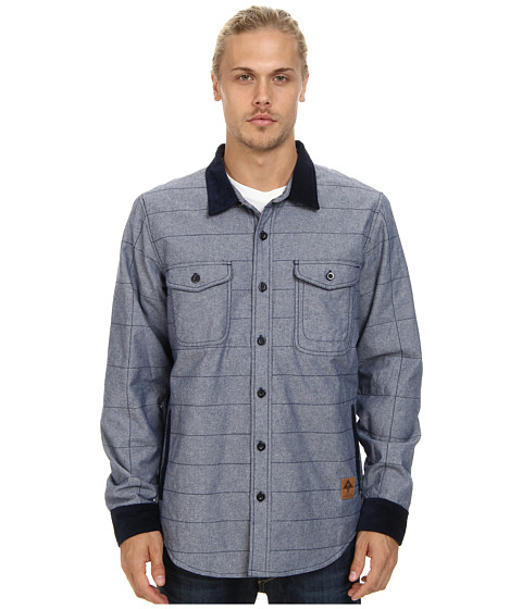 L-R-G - So High Road Shirt Jacket (Navy) Men's Coat