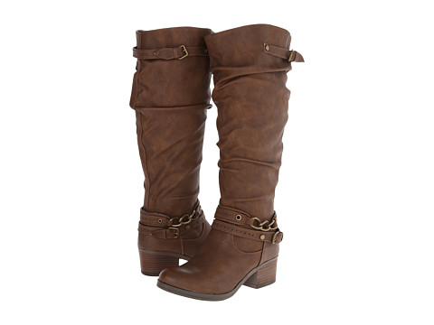 CARLOS by Carlos Santana - Cassie Wide Shaft (Brown) Women's Boots