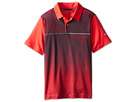 Nike Kids Graphic Polo (Big Kids) (Action Red/Light Magnet Grey)