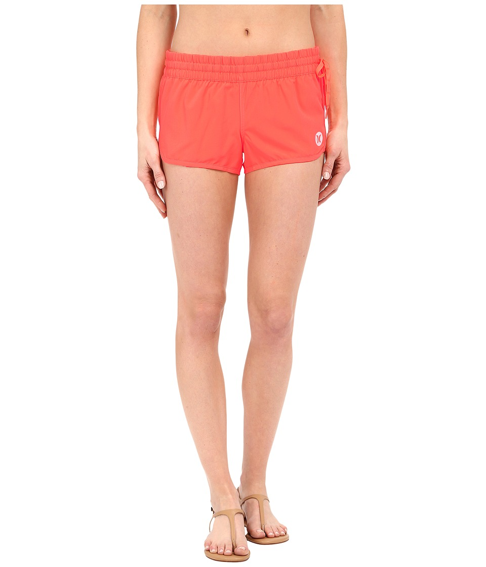Hurley - Phantom Solid Beachrider (Bright Mango) Women's Swimwear
