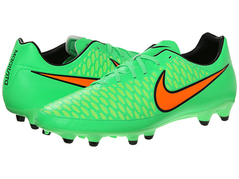 Nike - Magista Onda FG (Poison Green/Flash Lime/Black/Total Orange) Men's Soccer Shoes