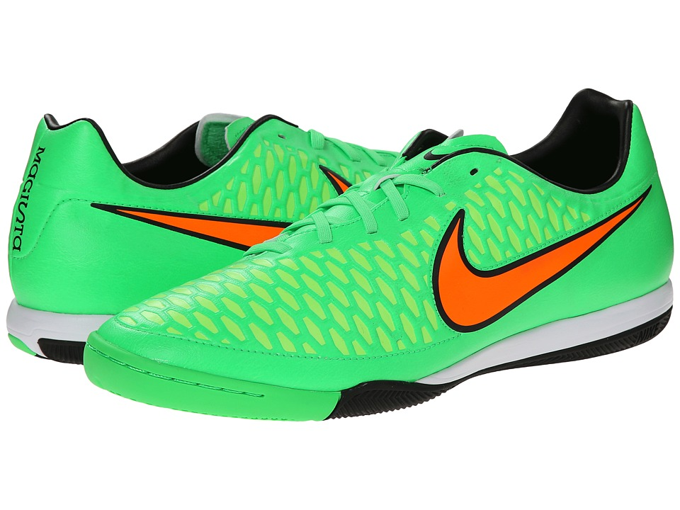 Nike - Magista Onda IC (Poison Green/Flash Lime/Black/Total Orange) Men's Soccer Shoes