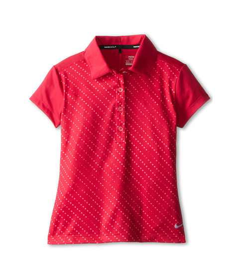 Nike Kids - Novelty Polo (Little Kids/Big Kids) (Fuchsia Force/Wolf Grey) Boy