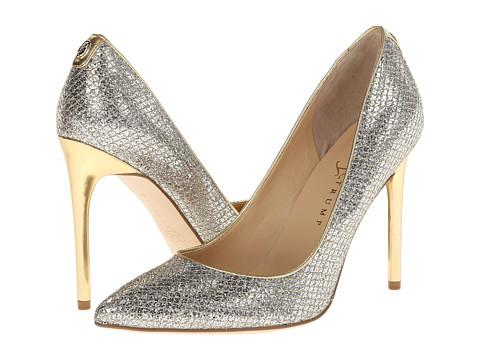 Ivanka Trump - Kayden 4 (Gold Glitter) High Heels