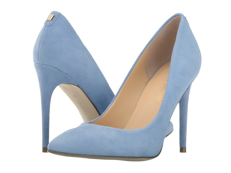 Ivanka Trump Kayden 4 (Medium Blue Suede) High Heels