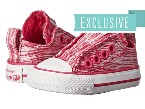 Converse Kids - Ctas Slip (Infant/Toddler) (Cosmos Pink) Girls Shoes