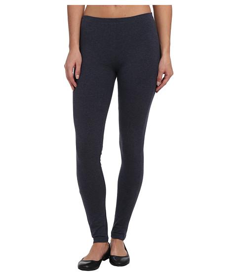 HUE - Cotton Legging (Denim Heather) Women's Casual Pants