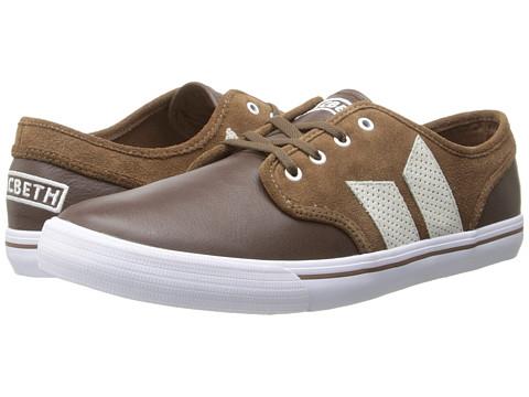 Macbeth - Langley (Dark Brown/Medium Brown) Men's Skate Shoes