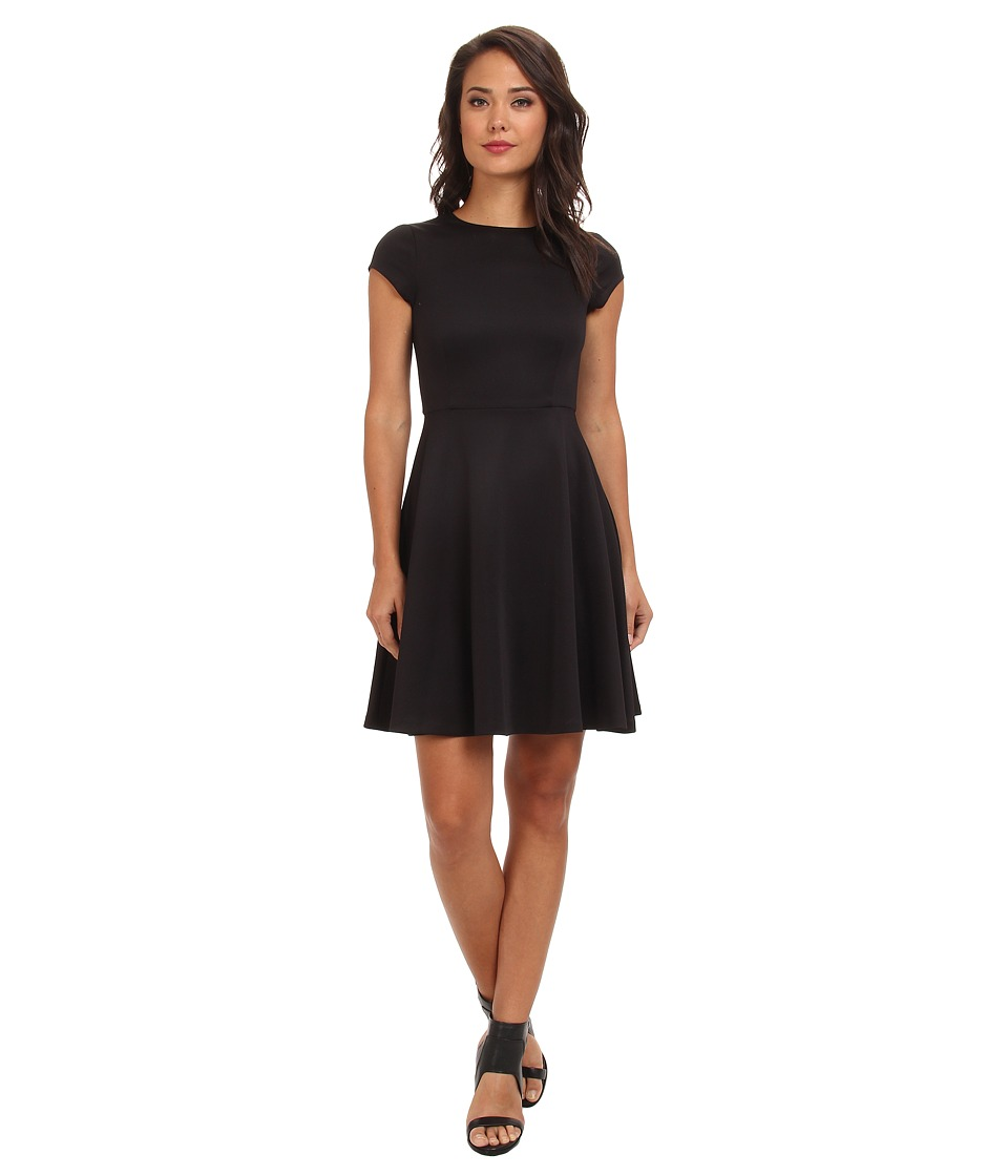 Susana Monaco Giulietta (w/ Out Belt) Dress (Black) Women