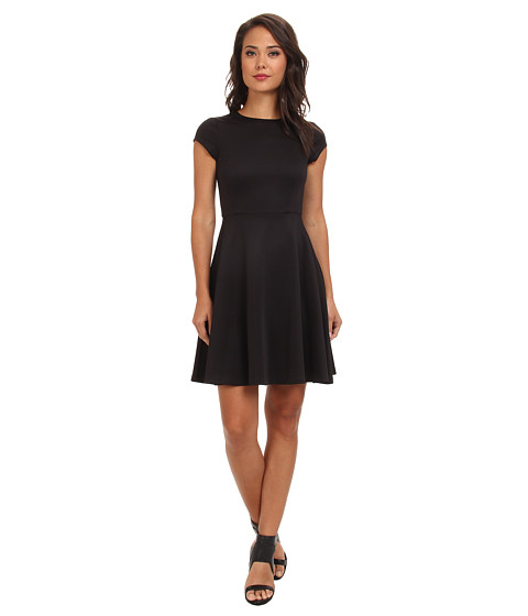 Susana Monaco - Giulietta (w/ Out Belt) Dress (Black) Women