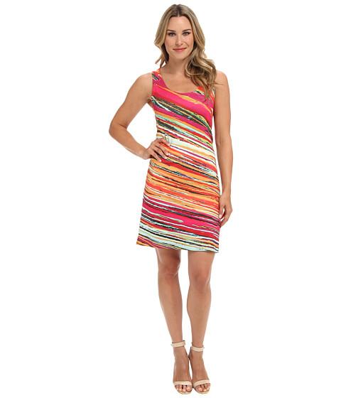 Nally & Millie - Printed Reversible Dress (Multi) Women's Dress
