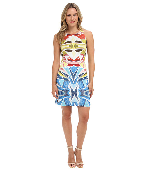 Nally & Millie - Printed Reversible Dress (Multi) Women
