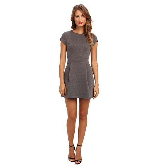 Susana Monaco - Marlene Dress (Melange Sidewalk (Gray)) Women's Dress