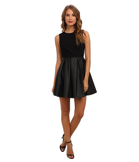 Susana Monaco - Paulette Dress (Black) Women