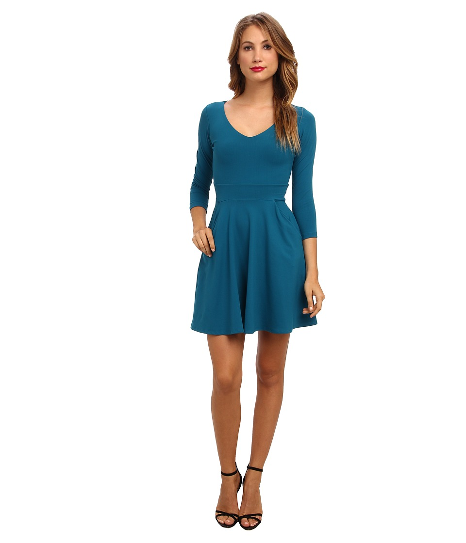 Susana Monaco - Pocket Dress (Sea (Blue)) Women