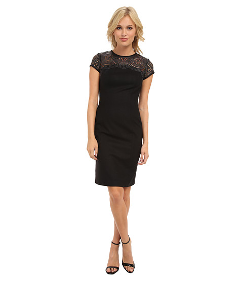 Susana Monaco - Madeleine Dress (Black) Women's Dress