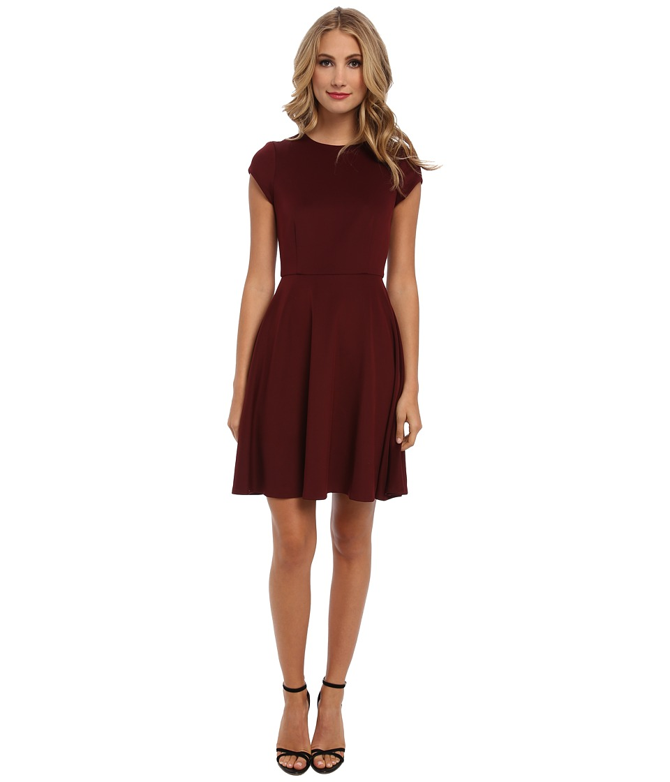 Susana Monaco - Giulietta (w/ Out Belt) Dress (Port Wine (Wine)) Women