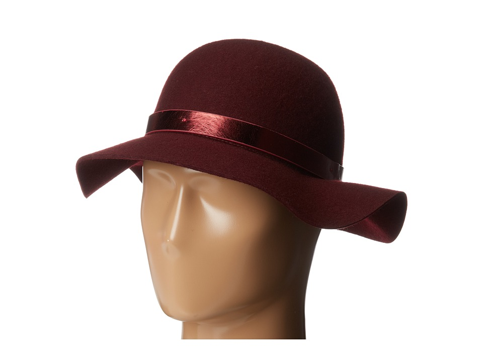 BCBGeneration - Asymmetrical Floppy (Wineberry) Traditional Hats