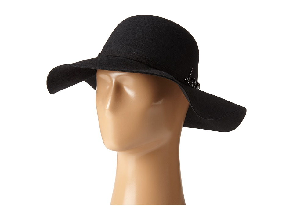 BCBGeneration - In Love Floppy (Black) Traditional Hats