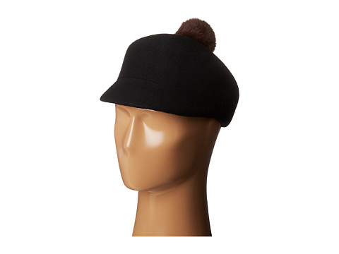 BCBGeneration - Pom Pom Cadet (Black) Traditional Hats