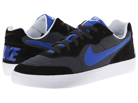 Nike - NSW Tiempo Trainer (Anthracite/Black/White/Lyon Blue) Men's Cross Training Shoes